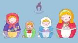 Matriochka poupées russe - bonne année 2013