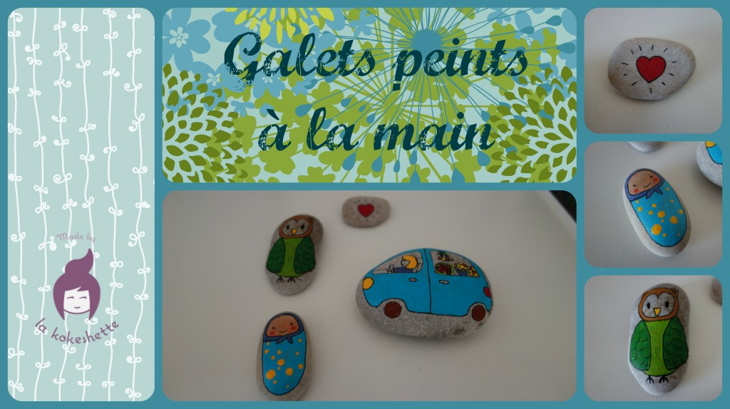DIY galets peints