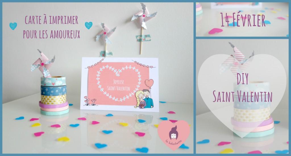 diy carte saint valentin à imprimer