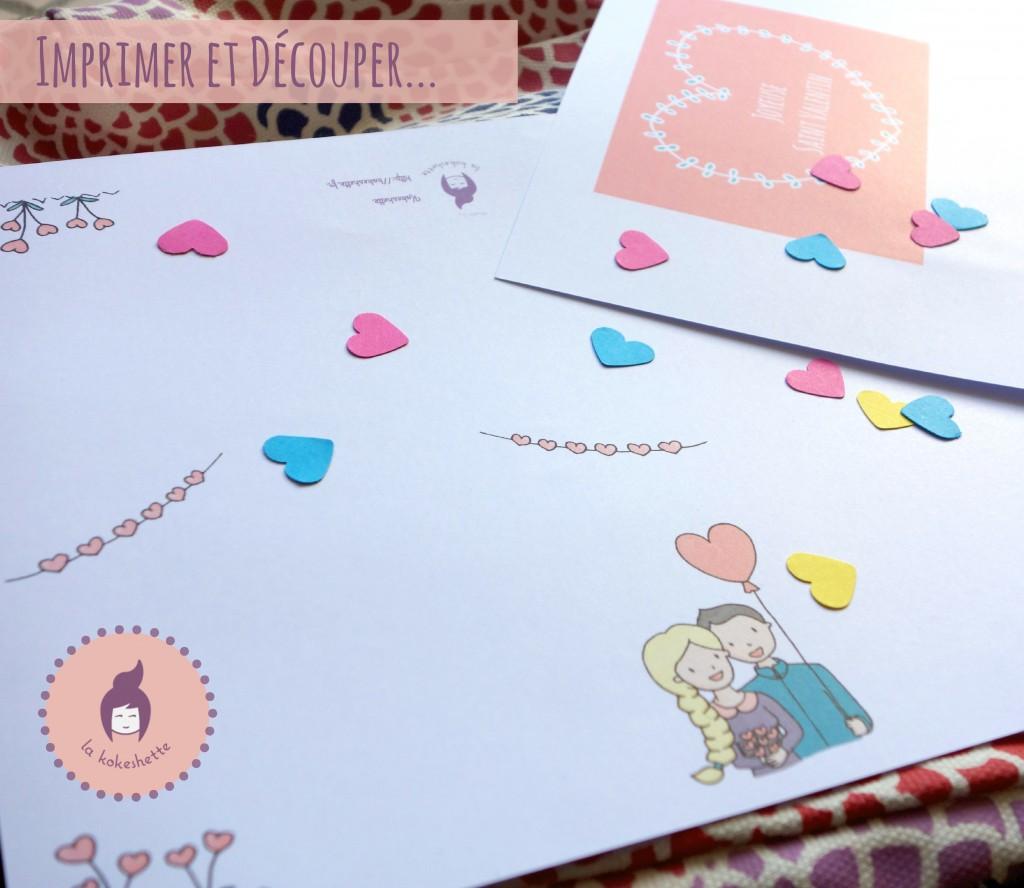 diy carte saint valentin à imprimer découper