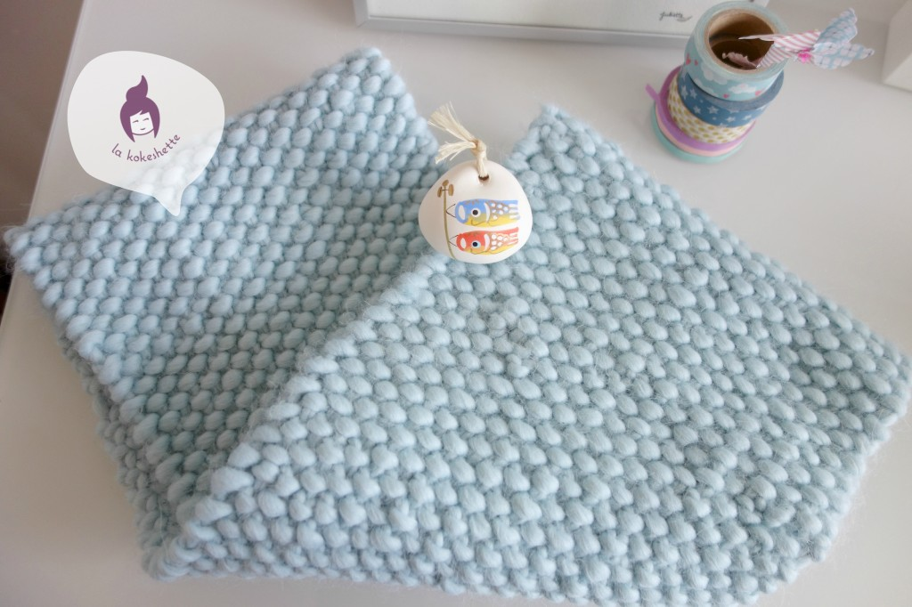 diy-tricot-snood-tissé-tuto-envers