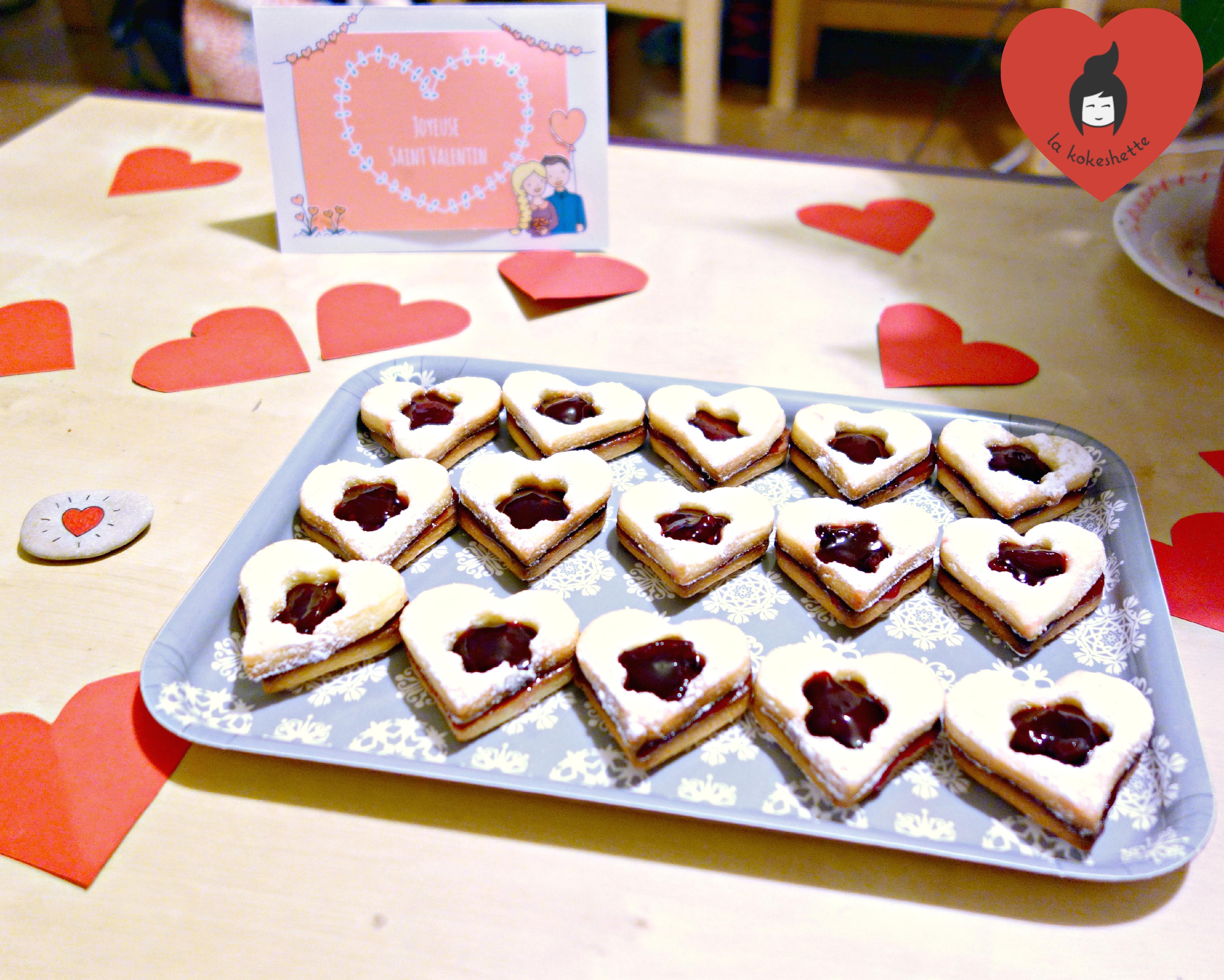... coeurs confiture pour la Saint Valentin  Le blog de la Kokeshette